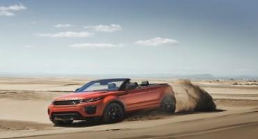 Nuova Range Rover Evoque Convertibile