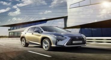 Nuovo Lexus RX Hybrid, iniziata la prevendita, le prime consegne a Gennaio 2016