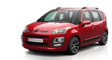 Nuova gamma Citroën C3 Picasso, ora ancora più tecnologica e competitiva
