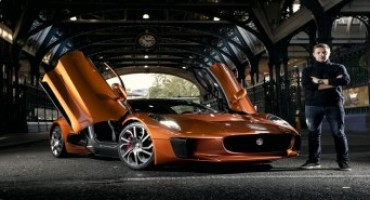 SPECTRE'S Jaguar C-X75 to make public debut at London's Lord Mayor's show parade