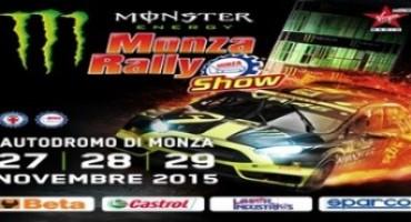 Monster Energy Monza Rally Show, biglietti scontati ad Eicma e in centro a Monza