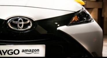 Nuova Toyota Amazon Edition, disponibile su www.amazon.it dal 16 Novembre al 31 Dicembre 2015