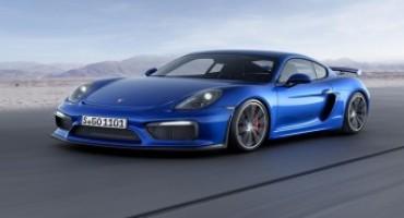 Temporary Experience Porsche:  la potenza e l'eleganza della Cayman GT4 nel cuore di Milano