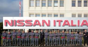Nel 2015 il magazzino di Nissan Italia si conferma, per il quarto anno consecutivo, il più produttivo d'Europa