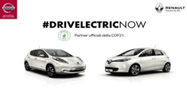 Renault e Nissan svelano la loro campagna pubblicitaria comune per la COP21