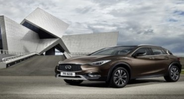 Infiniti Q30 riceve le cinque stelle nella valutazione Euro NCAP