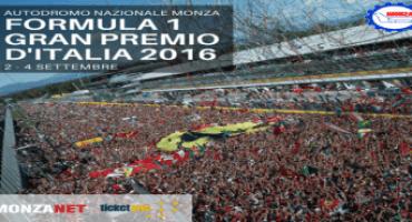 Formula 1 – Gran Premio d'Italia 2016: aperta la prevendita degli abbonamenti