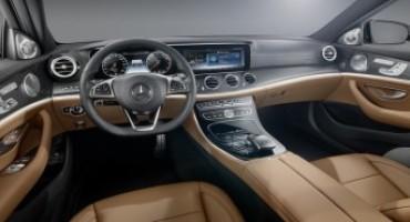 Mercedes-Benz presenta i futuristici interni della nella nuova Classe-E