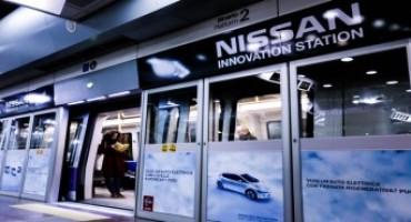 Nissan, a Milano, nella Stazione Garibaldi FS la Casa giapponese firma la prima innovation station