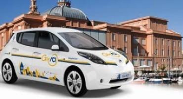 Nissan, car sharing: la Casa sostiene il trasporto elettrico della città di Bari con 30 Nissan LEAF e una rete di ricarica rapida