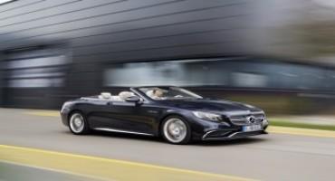 Nuova Mercedes-AMG S 65 Cabrio, prestazioni, eleganza e comfort per quattro