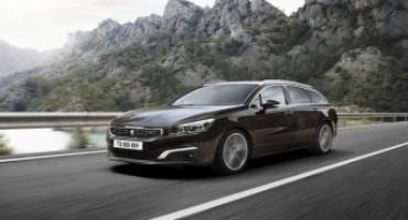 Nuova Peugeot 508 SW MIX, performante, comoda e rispettosa dell'ambiente