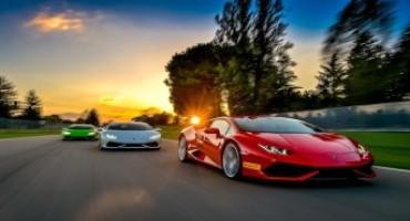 Lamborghini, confermati per il 2016 i corsi di guida in pista Esperienza e Accademia