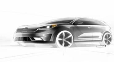 KIA svela l'avveniristico concept Niro Hybrid