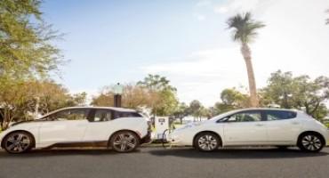 Nissan e BMW, una partnership per la duffisione di 120 stazioni di ricarica rapida negli States