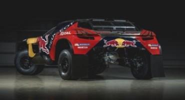 Peugeot 2008DKR svela i suoi colori per la Dakar