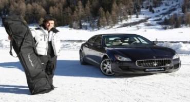 """Maserati partner ufficiale di Cortina Turismo per il lancio del """"Maserati Winter Tour"""""""