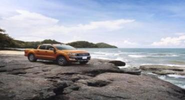 Ford Ranger, ha le cinque stelle EuroNCAP ed è il pick-up più venduto in Europa nel 2015