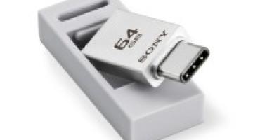 Sony lancia la nuova serie USB CA1, è veloce e si possono salvare fino a 64 Gb di file