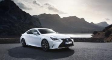 Lexus presenta la prima coupé 100% Hybrid, è la nuova RC Hybrid
