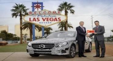 Mercedes Classe E, ottiene l'autorizzazione negli States per un test con guida autonoma