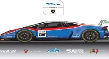 Campionato Italiano Gran Turismo, Ombra Racing schiera nella classe Super GT3 una Lamborghini Huracan