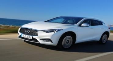 """Infiniti Q30, nelle valutazioni EuroNCAP è la migliore classificata nella categoria """"small family car"""""""