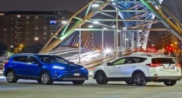 Toyota presenta la nuova versione Hybrid di RAV 4
