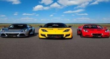 Lotus Italia, nel 2015 le immatricolazioni sono cresciute del 44% rispetto al 2014