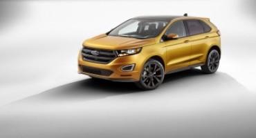 Ford Italia apre gli ordini della nuova Edge, il nuovo SUV Full Size