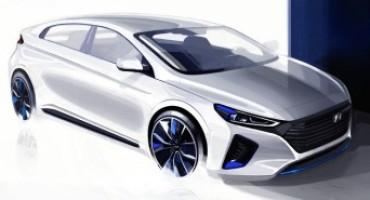 Hyundai, due rendering della IONIQ, sicura protagonista del mercato europeo 2016
