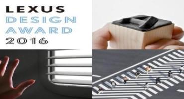 Lexus Design Award 2016, l'annuncio dei finalisti