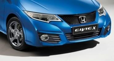 Honda, la nuova Civic X Edition è la prima novità del 2016