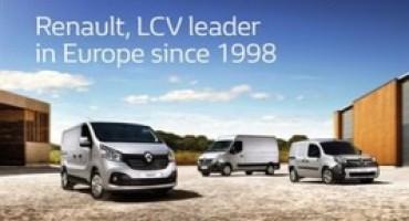 Il Gruppo Renault è leader nel segmento dei veicoli commerciali leggeri