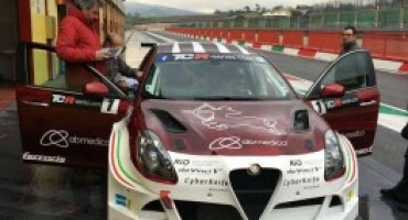 Campionato Italiano Turismo, proseguono i test al Mugello per la Giulietta TCR della Romeo Ferraris
