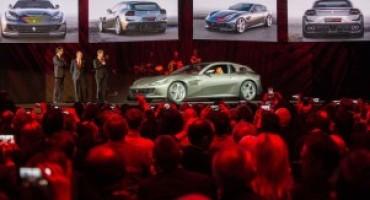 Ferrari GTC4Lusso, ammirata a Villa Erba (Como) da quasi mille clienti
