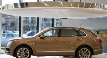 Bentley apre un nuovo showroom nel cuore di Milano