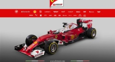 Formula 1 : ecco le immagini della SF16-H, la nuova monoposto di Maranello