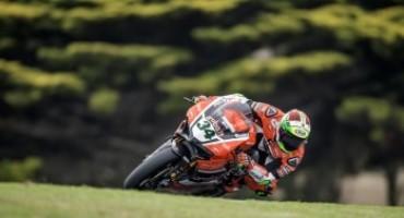 Team Aruba.it Racing – Ducati, la pioggia rallenta gli ultimi test pre-stagione a Phillip Island