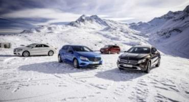 Il sistema 4MATIC di Mercedes-Benz è ora disponibile su oltre 80 modelli