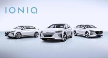 Nuova Hyundai IONIQ, debutta al Salone di Ginevra con tre differenti motorizzazioni elettriche