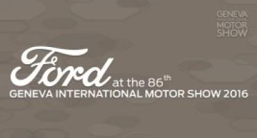 Le novità di Ford al Salone di Ginevra 2016