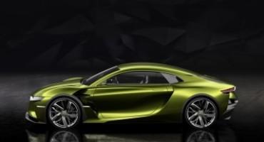 Il Marchio DS svela al Salone di Ginevra 2016 l'avveniristica GT elettrica DS E-TENSE
