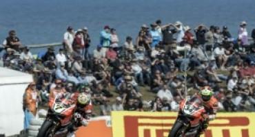 Superbike 2016, secondo posto per il team Aruba.it Racing – Ducati in Gara 1 a Phillip Island con Chaz Davies