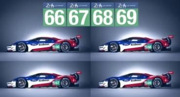 Ford GT alla 24 Ore di Le Mans: quattro auto al via dell'edizione 2016 (18/19 Giugno)