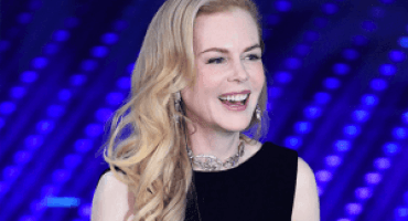 OMEGA ambassador Nicole Kidman graced the stage of the Teatro Ariston in high style at the San Remo Festival