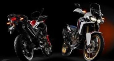 Honda Moto, il 2016 comincia nel segno dell'Africa Twin
