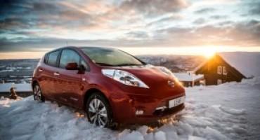 Nissan LEAF 30 kWh arriva sul mercato