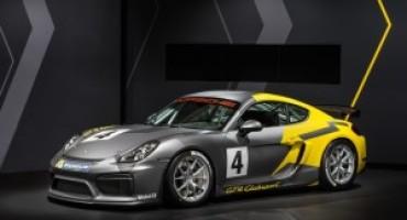 Campionato Italiano GT, la Porsche Cayman GT4 Clubsports scenderà in pista nel Trofeo Nazionale GT4