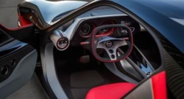 Opel GT Concept, una dream car con un abitacolo futuristico